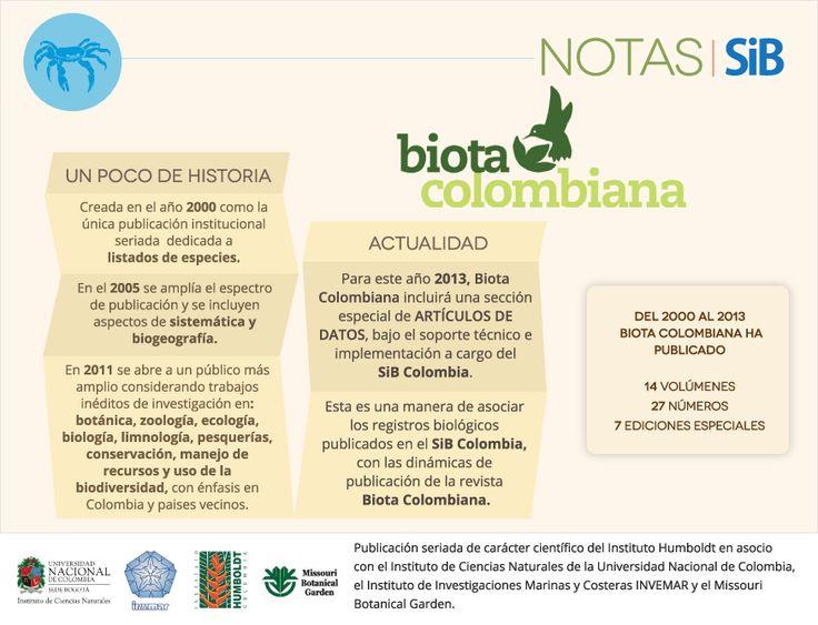 Biota Colombiana