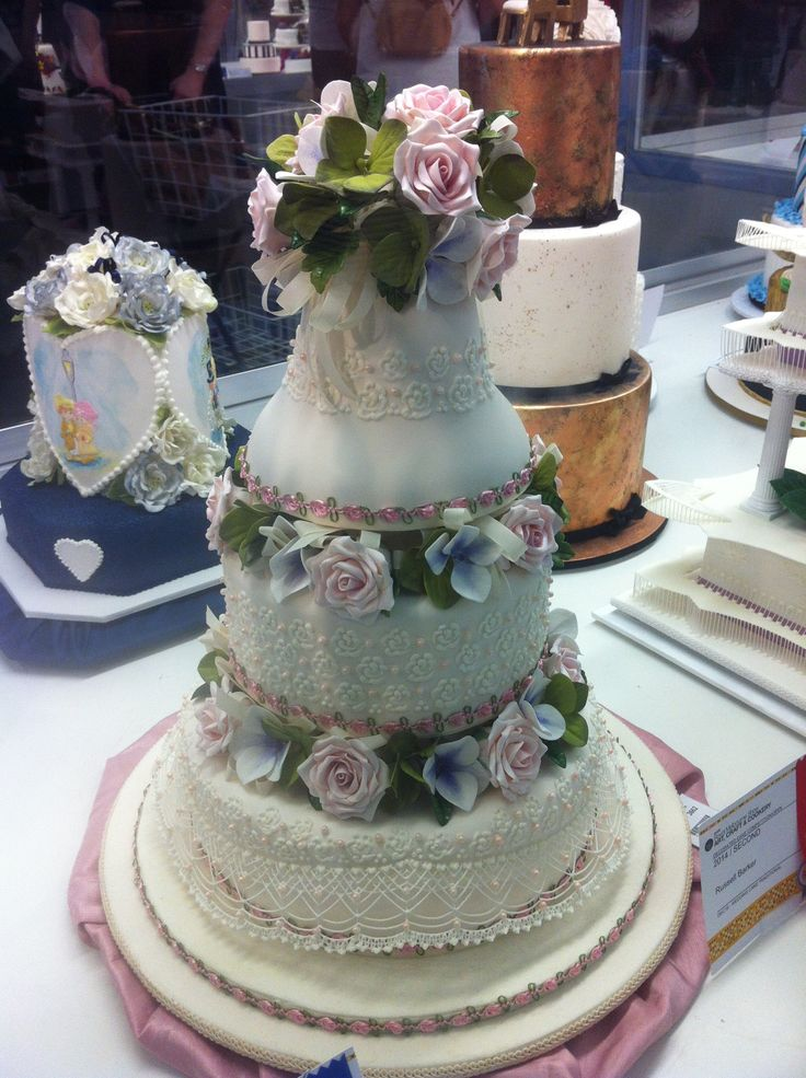 Decorative Multi Tiered Cake Royal Melbourne Show 2014