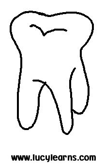 tooth coloring pages and printable szukaj w google