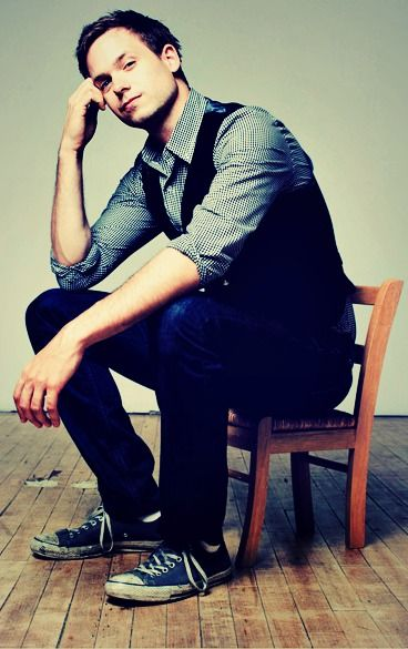 Patrick J. Adams... One of my many loves