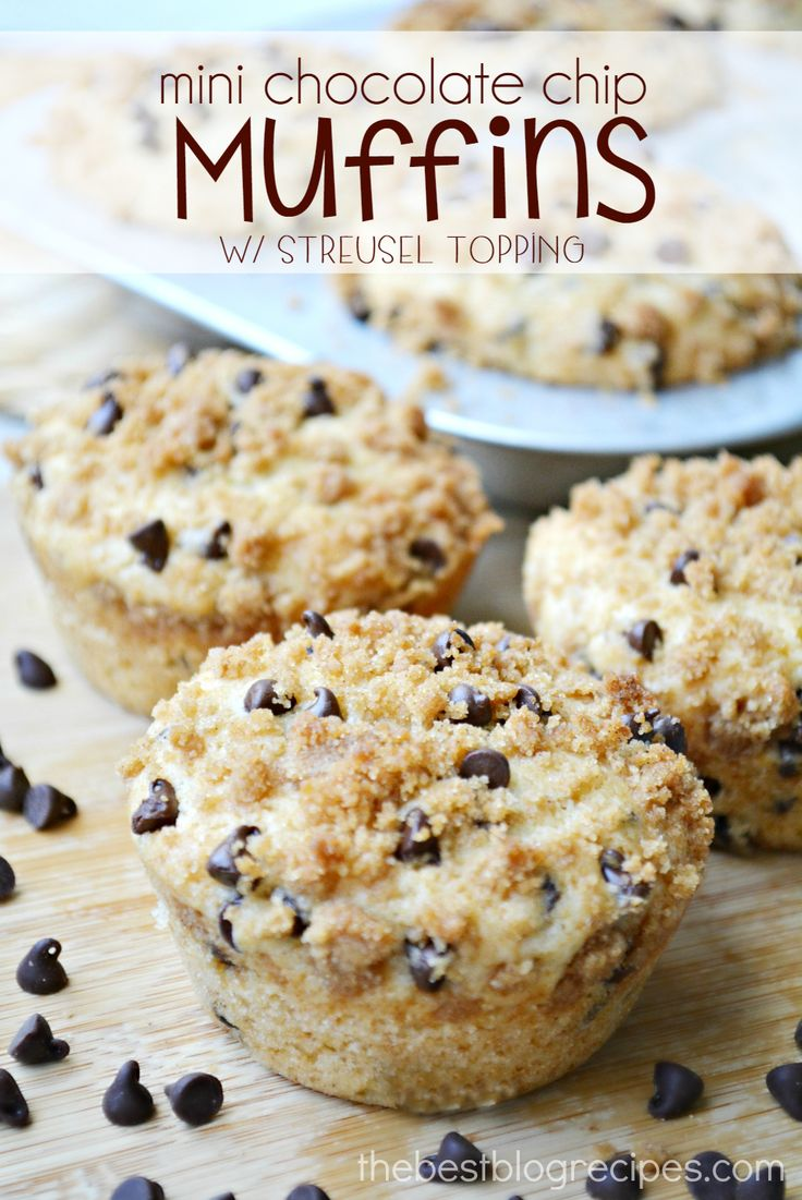 check out mini chocolate chip muffins with. Black Bedroom Furniture Sets. Home Design Ideas