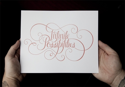 .: Scripts, Amazeb Design Typeographi, Design Typography, Graphics Design, Quotes Art Typography, Infinite Possible, Note Cards, Amazeb Designstypeographi, Typography Inspiration