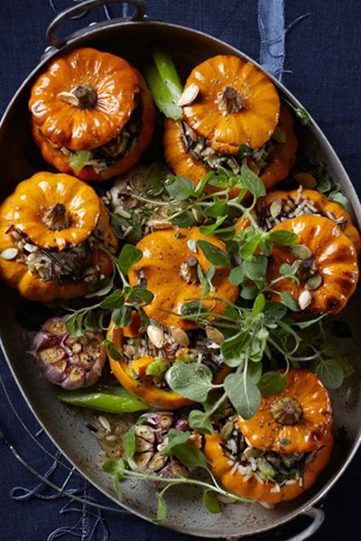 From blood-curdling Black Widow cocktails to petrifying pumpkin fondue, take inspiration from our pick of devilishly delicious party recipes, to throw a grown-up Halloween bash that's guaranteed to go down a storm. Grab your broomsticks, don your best witch hat and get into the spooky spirit. Here's how to give your dinner guests the foodie fright of their lives…