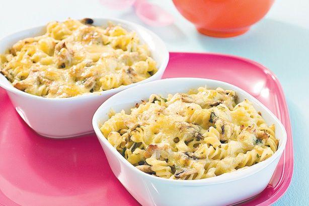 Tuna and mushroom pasta bake | Foods & Drinks | Pinterest