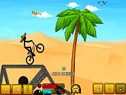 Join this fun-addicting Stickman Freestyle BMX racing game and crack all records. Aim is to ride on your oldschool BMX bike across the wacky path. Best Free Games at Starfall Zone.
