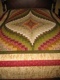 My first Bargello quilt