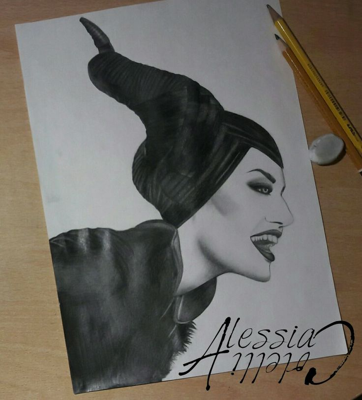 #maleficient #chiaroscuro #drawing