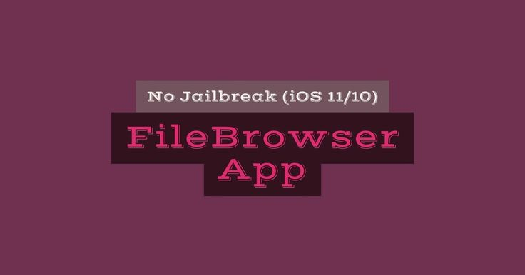 http://ift.tt/2tqoJAj To Download and Install FileBrowser IPA (Files App) On iOS 10/11 Without Jailbreak http://ift.tt/2tTKrjC  Files app is a new file manager app introduced in iOS 11. But is theres any way to download and install iOS 11 Files app like on iOS 10? Yes you can get the new FileBrowser IPA (Files app) on iOS 10/11 without jailbreak on iPhone/iPad/iPod touch.  But jailbroken users can also install iFile (File Manager app) which lets you edit modify and even lot more to do than…