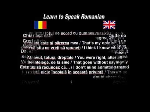 Learn to Speak Romanian: 13. Agreement