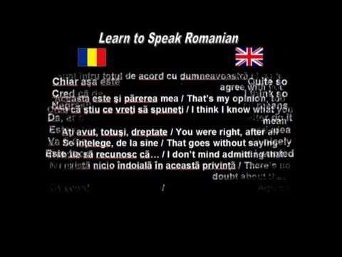 Learn to Speak Romanian: 13. Agreement