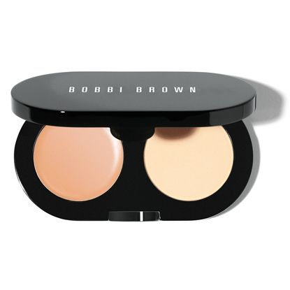 Bobbi Brown Creamy Concealer Kit in Porcelain with White Powder.