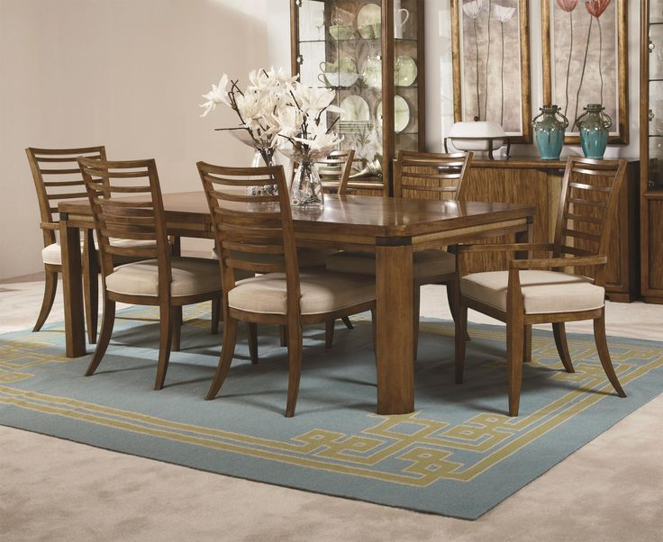 From Darvin Furniture Grove Point Table And Chair Set By American Drew