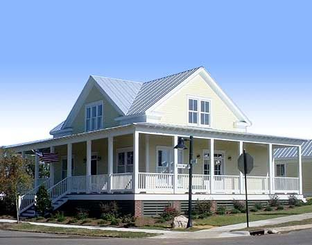 287 best low country style images on pinterest home for Low country house plans with porches