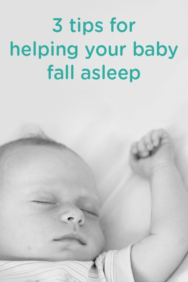 These 3 tips for helping your baby fall asleep are simple ways to aid in soothing your little one and establishing a routine to hopefully make bedtime easier for you and your little one.