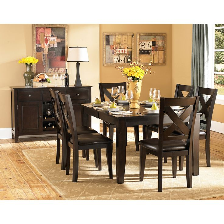 Crown Point Rectangular Dining Room Set By Homelegance Furniture