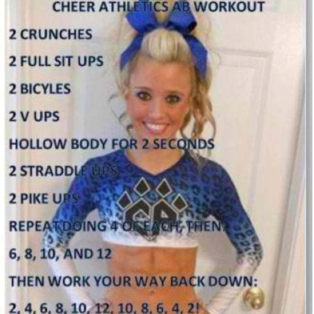 We need to do this for conditioning to help gain strength for every spot in stunts.