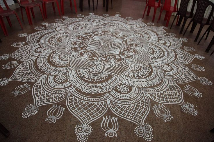 Beautiful Kolam!!!