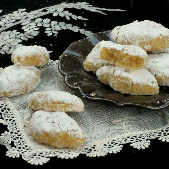 RICCIARELLI RICETTA ORIGINALE biscotti tipici ricciarelli di Siena