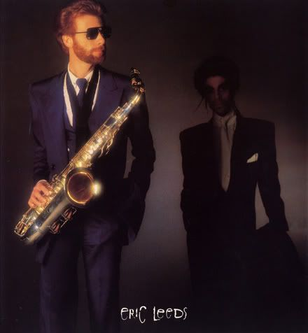 "Classic Prince | 1987 Sign ""☮"" The Times Tour Book Photo with the fantastic Eric Leeds!"