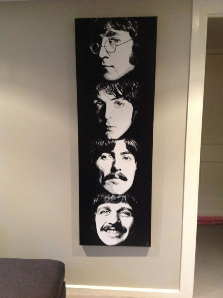 Beatles, 20 x 60inch
