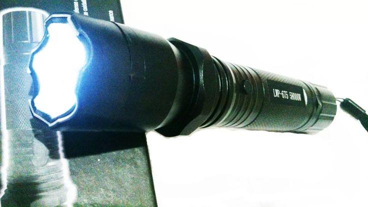 Lanterna De Choque Police Recarregavel Led Cree Q6 58000w - R$ 55,99 em Mercado Livre