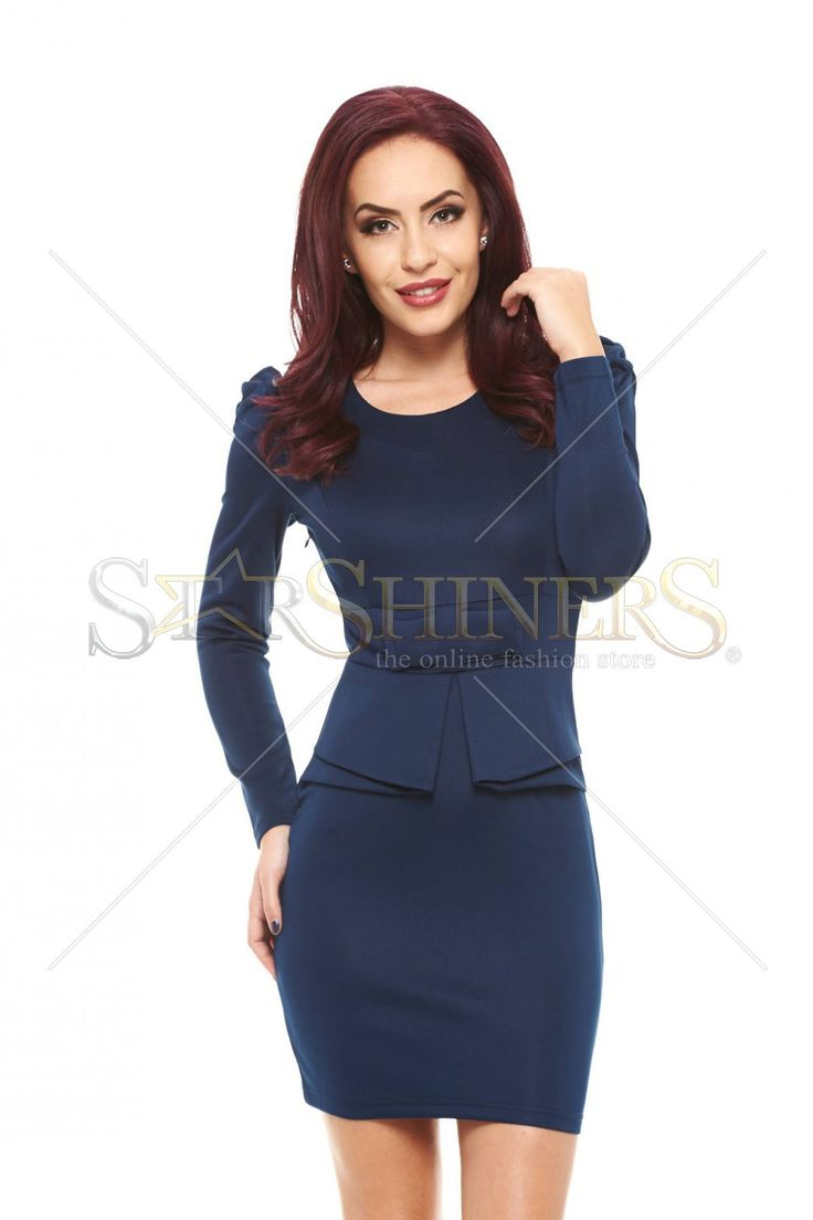 Elegant Fashion DarkBlue Dress