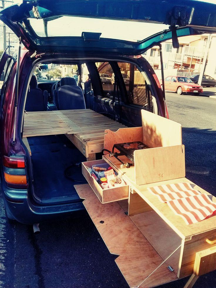 DIY Van Kitchen DinnerTime! Camping with Van Conversion Simple Van Life