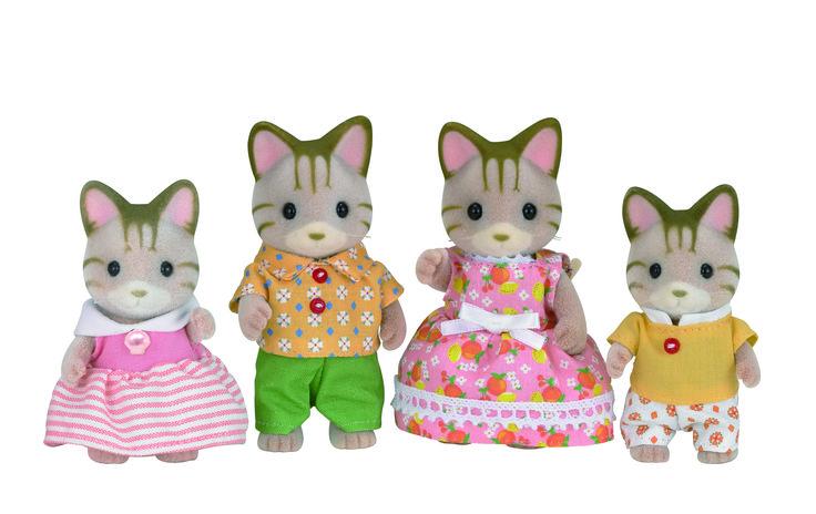 Η οικογένεια Striped Cat λατρεύει το καλοκαίρι. ♥ Sylvanian Families GR ♥
