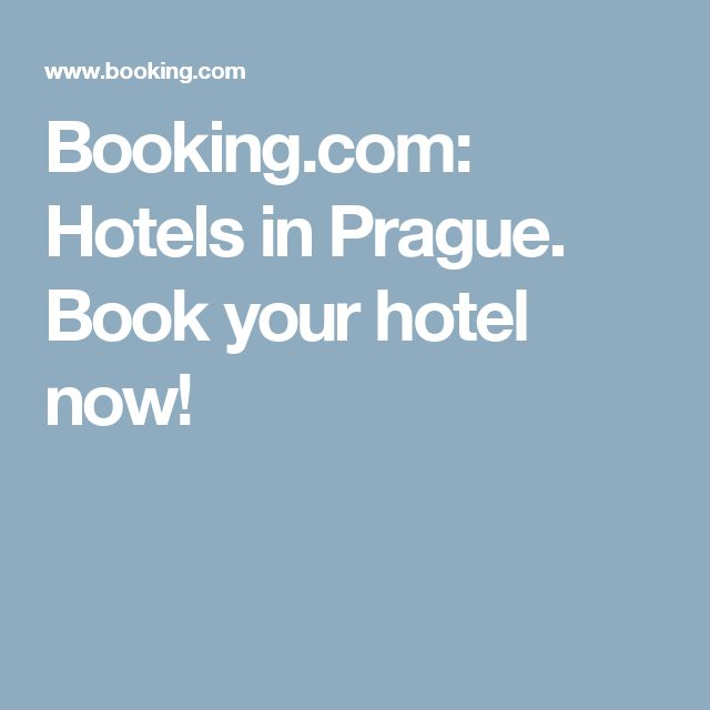 Booking.com:  Hotels in Prague.  Book your hotel now!