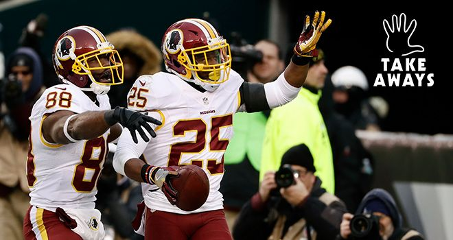 5 Takeaways: Redskins-Eagles