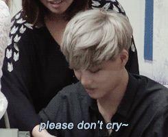 he is soooo kind :'( okay now im literally crying coz one of those rare guys who r kind...