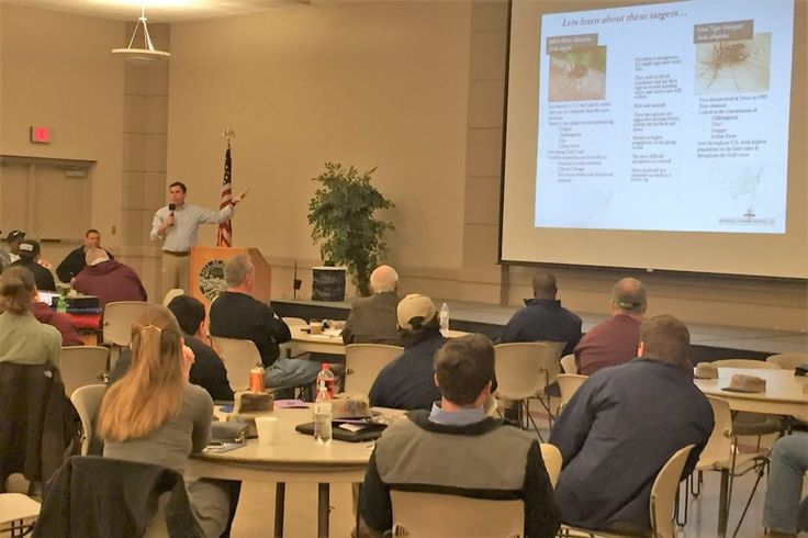 The Mississippi Mosquito & Vector Control Association holds their annual meeting for mosquito control districts and experts throughout the state.