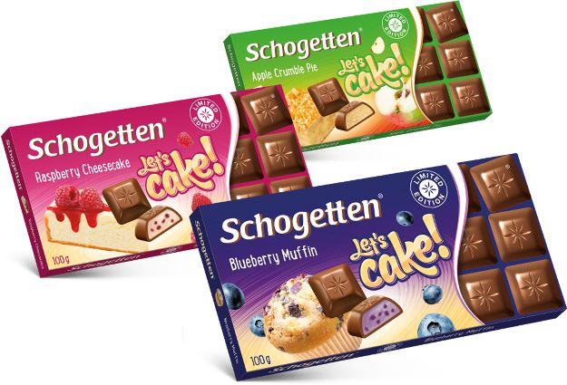 Schogetten Lets Cake Limited Edition