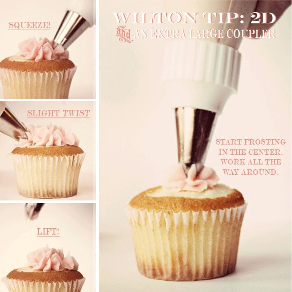 FROSTING CUPCAKES 201: THE RUFFLE FLOWER PILE UP METHOD.
