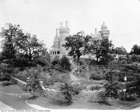 Casa Loma in the 1920s