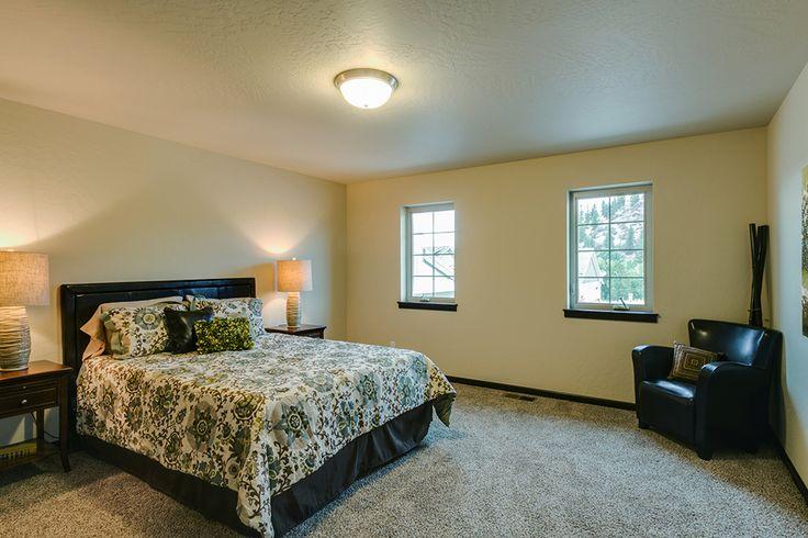 Spacious bedrooms.