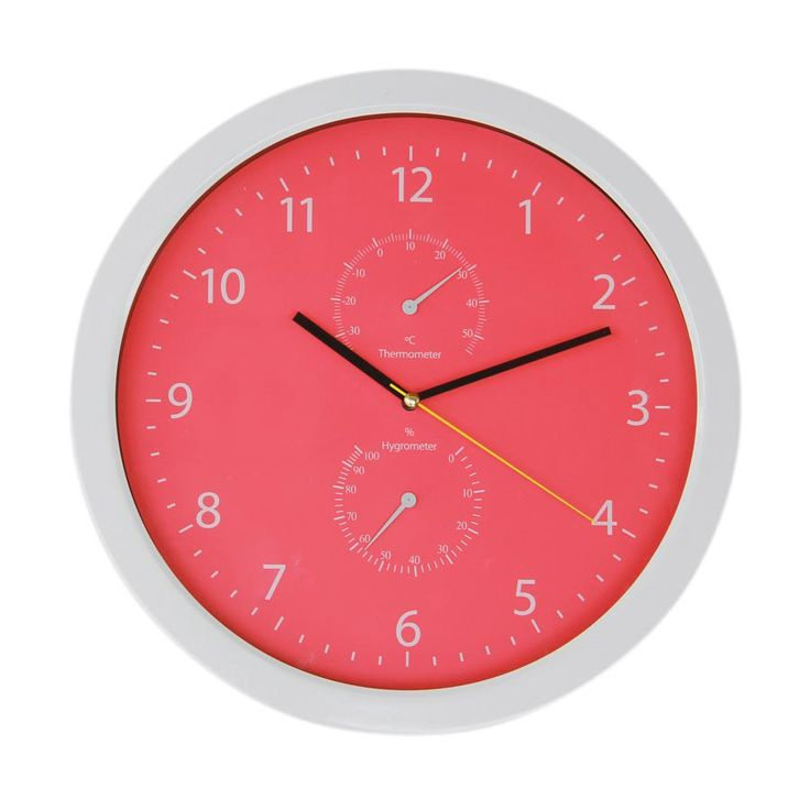 RT3026WH2 Basic Colorful W-Clock