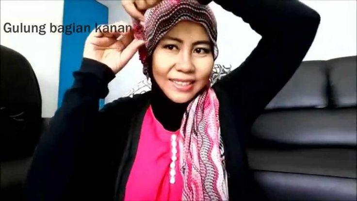 Tutorial Hijab Rai Pink Shawl