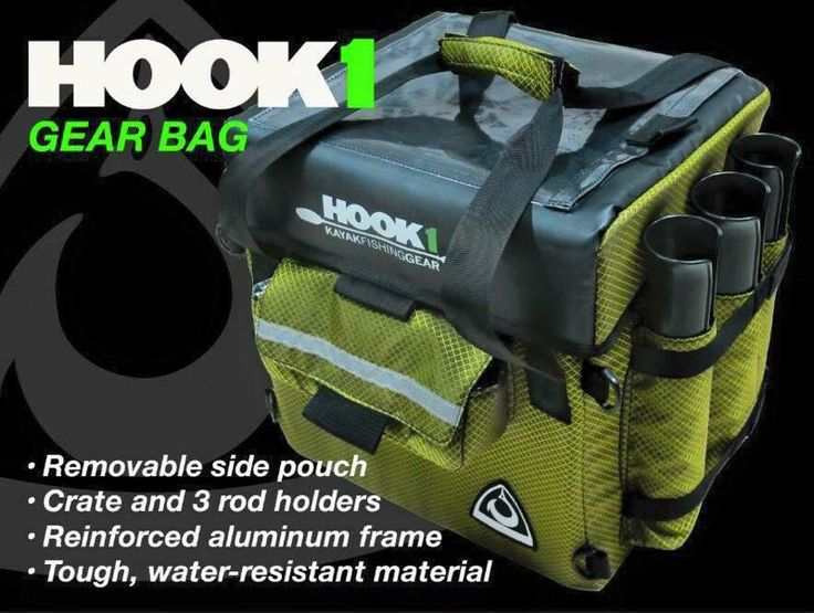 Hook 1 Kayak Fishing Gear Bag