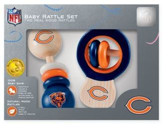 NFL Chicago Bears Baby Rattles (Set of 2)