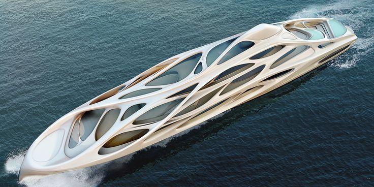 Londra'nın en bilinen mimarlarındanZaha Hadid,Alman yat üreticisiBlohm+Vossiçin bir yat serisi tasarladı. Zaha'nın hazırladığı 128 metrelik konsept yat, Blohm+Voss tarafından 4 farklı boyutta yorumlanarak geliştirildi. 90 metre uzunluğa indirilen Unique Circle Yacht'lar üzerindeki çizgiler, okyanus geçişini...