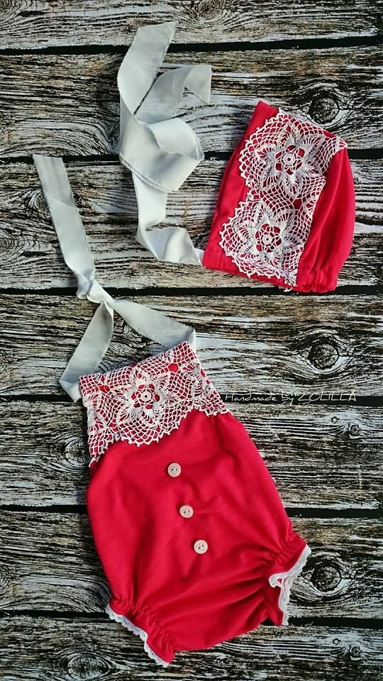 Baby dress / photo props :) christmas set