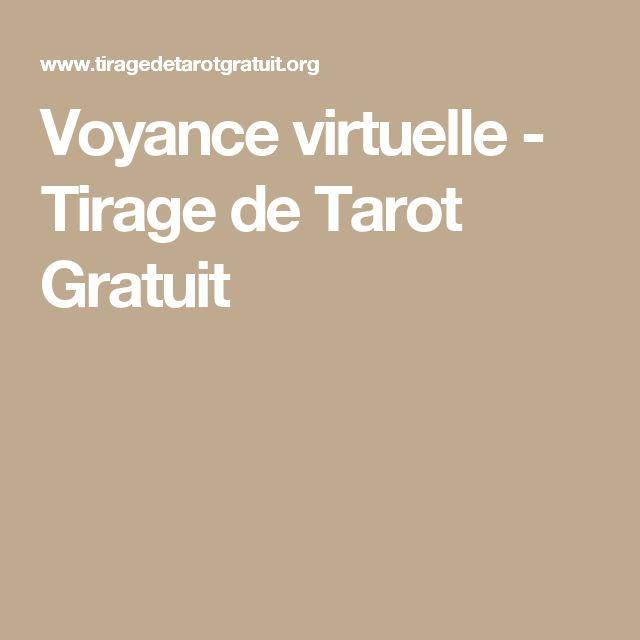 Voyance virtuelle - Tirage de Tarot Gratuit