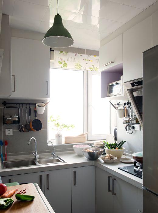 Ikea deutschland litao und tianye nutzen förhöja servierwagen in birke als kücheninsel und zusätzliche arbeitsfläche