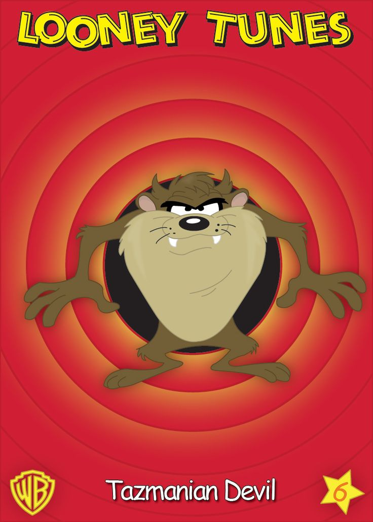 First one, of a series of Looney Tune Characters I did in Adobe Illustrator.