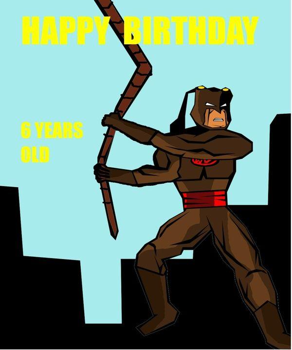 Superhero Birthday ecard   ebook comic deal