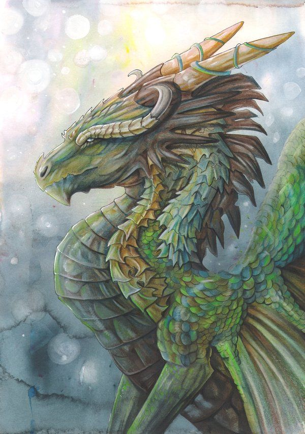 My Enchantments — home-of-amazons: River Dragon by dawndelver