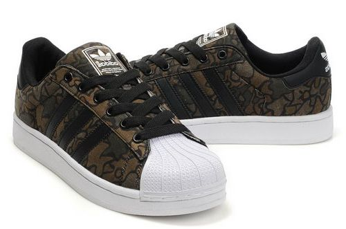 Adidas Superstar Ii Womens & Mens (unisex) Coffee Camo Outlet Store