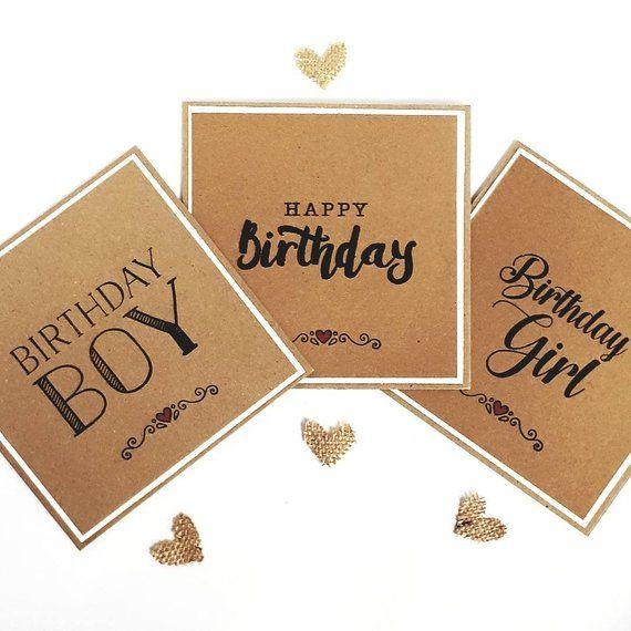 Pack Of Birthday Cards Rustic Birthday Cards Birthday Card Etsy Birthday Cards Rustic Birthday Happy Birthday Cards