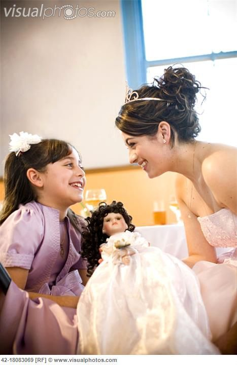 A Quinceanera Doll Or Last Doll Given To The Daughter